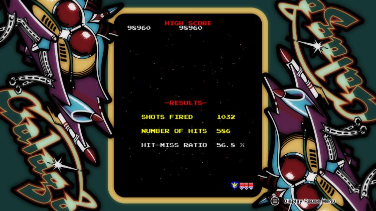 ARCADE GAME SERIES: GALAGA Screenshot 3