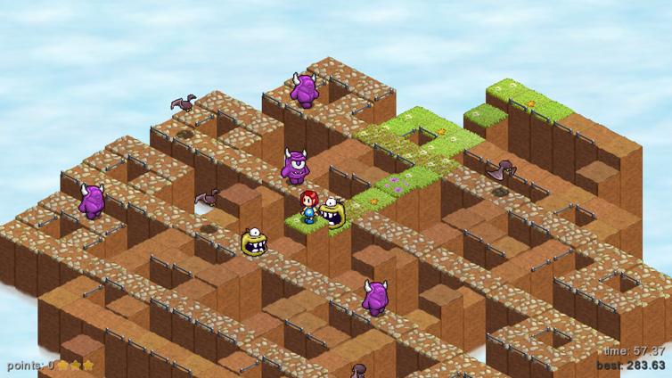 Skyling: Garden Defense Screenshot 1