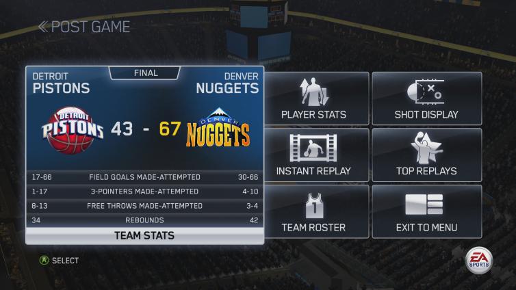 NBA LIVE 15 Screenshot 2