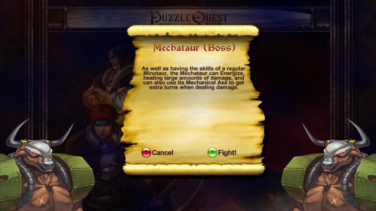 Puzzle Quest: Challenge of the Warlords Screenshot 3
