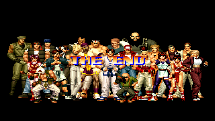 ACA NEOGEO THE KING OF FIGHTERS '94 Screenshot 2
