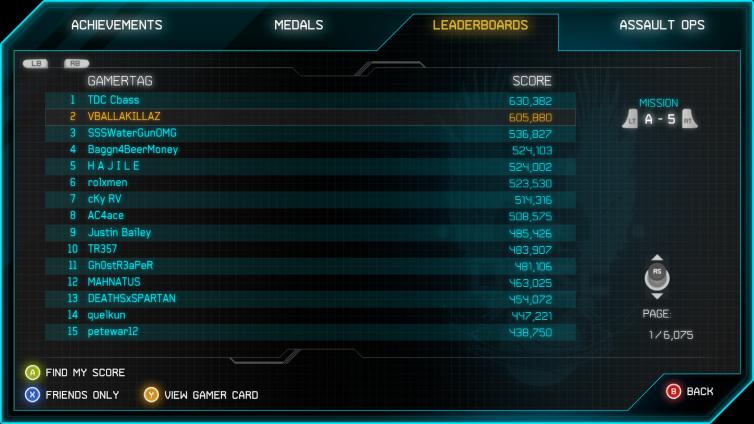Halo: Spartan Assault (Xbox 360) Screenshot 3