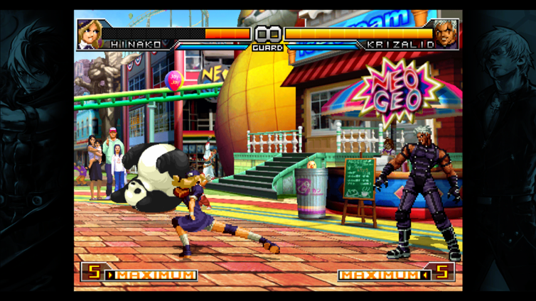 The King of Fighters 2002 Unlimited Match Screenshot 2