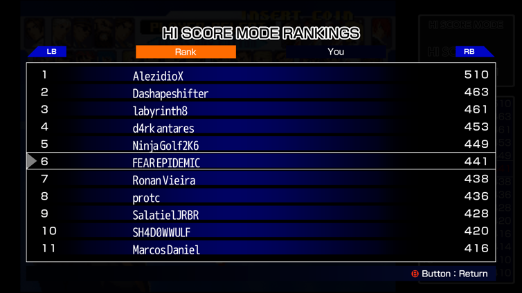 ACA NEOGEO THE KING OF FIGHTERS 2000 Screenshot 2