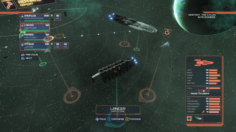 Battlestar Galactica Deadlock Screenshot 4