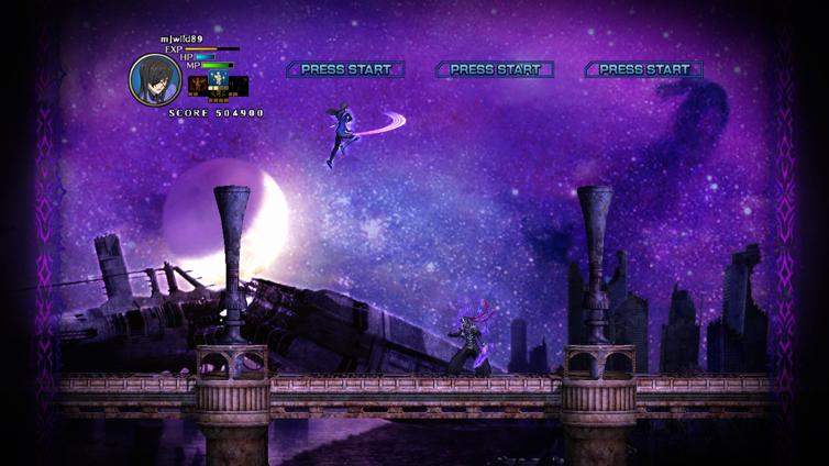 Moon Diver Screenshot 2