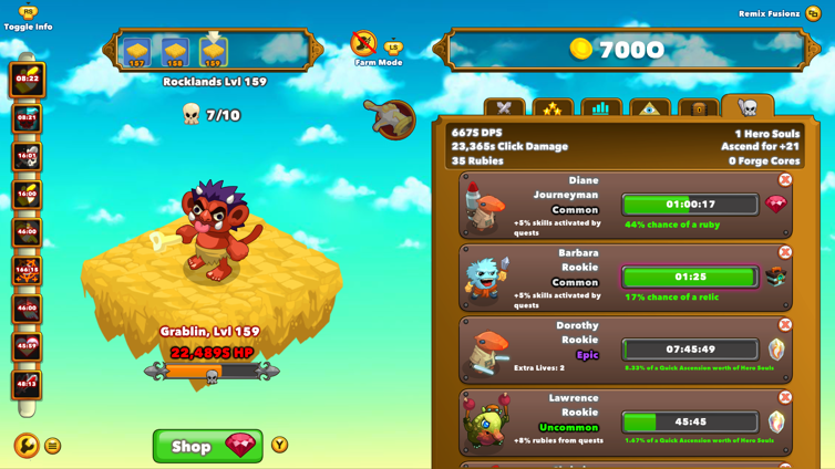 Clicker Heroes — XboxReplay net