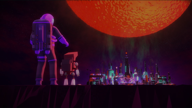 Planet of the Eyes Screenshot 2