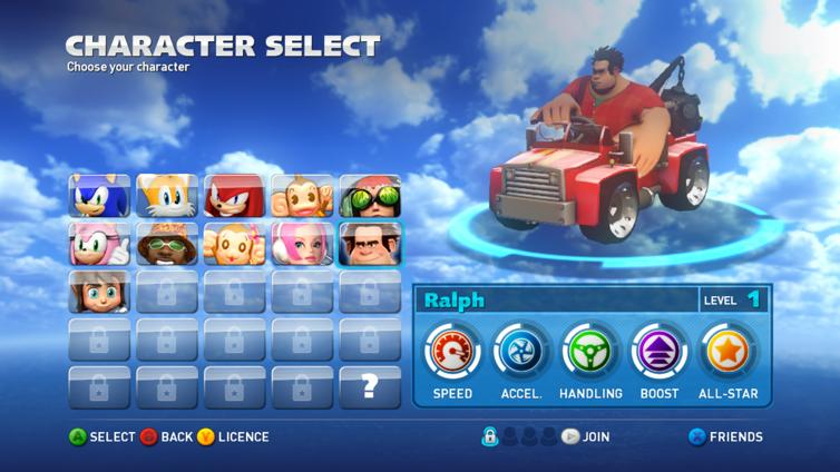 Sonic & All-Stars Racing Transformed Screenshot 2