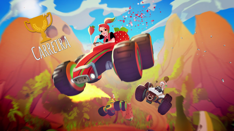 All-Star Fruit Racing Screenshot 1