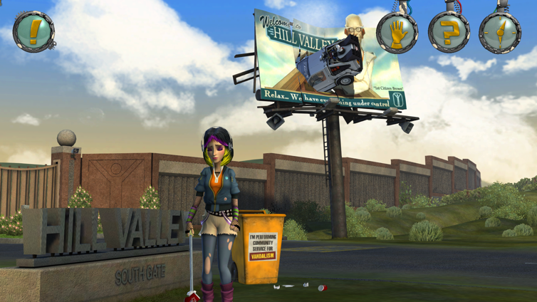 Back to the Future: The Game - 30th Anniversary Edition Screenshot 1