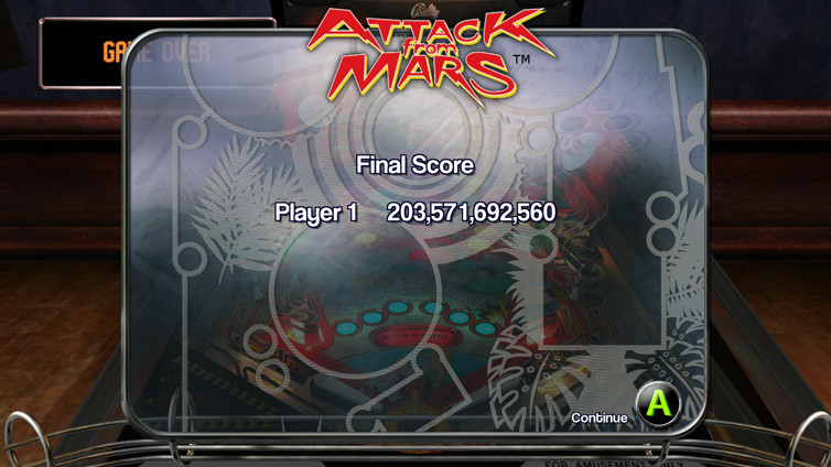 The Pinball Arcade Screenshot 4
